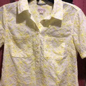 Merona Tops - Adorable nwot short sleeve blouse!
